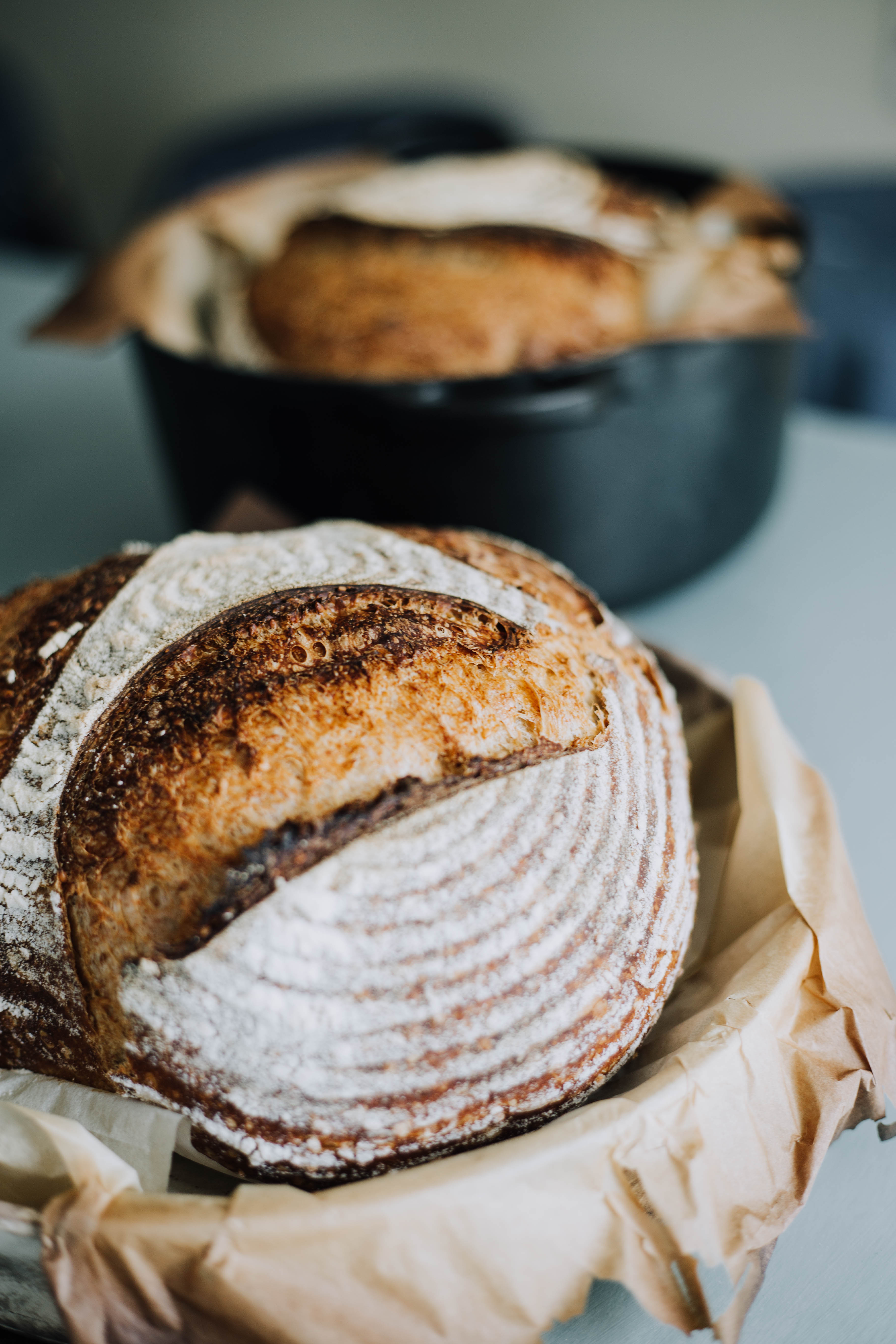 Knead and Know Country Bread{ }(Image: Courtesy Melinda Friend)