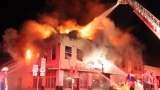 Large fire destroys corner of Newton Courthouse Square
