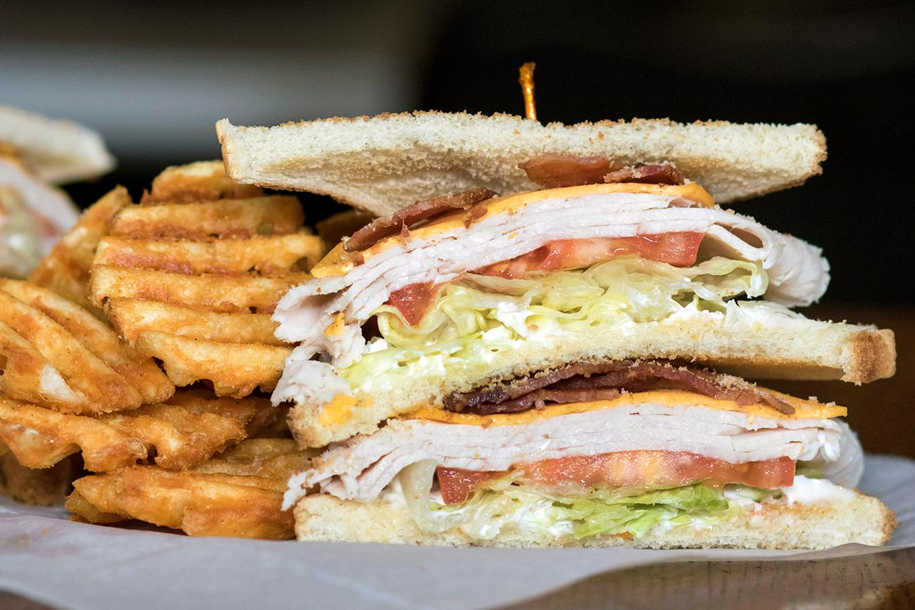 BLT double-decker / Image: Allison McAdams // Published: 2.12.18<p></p>