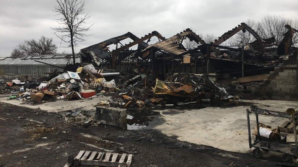 greenhouse fire leaves behind eyesore and high