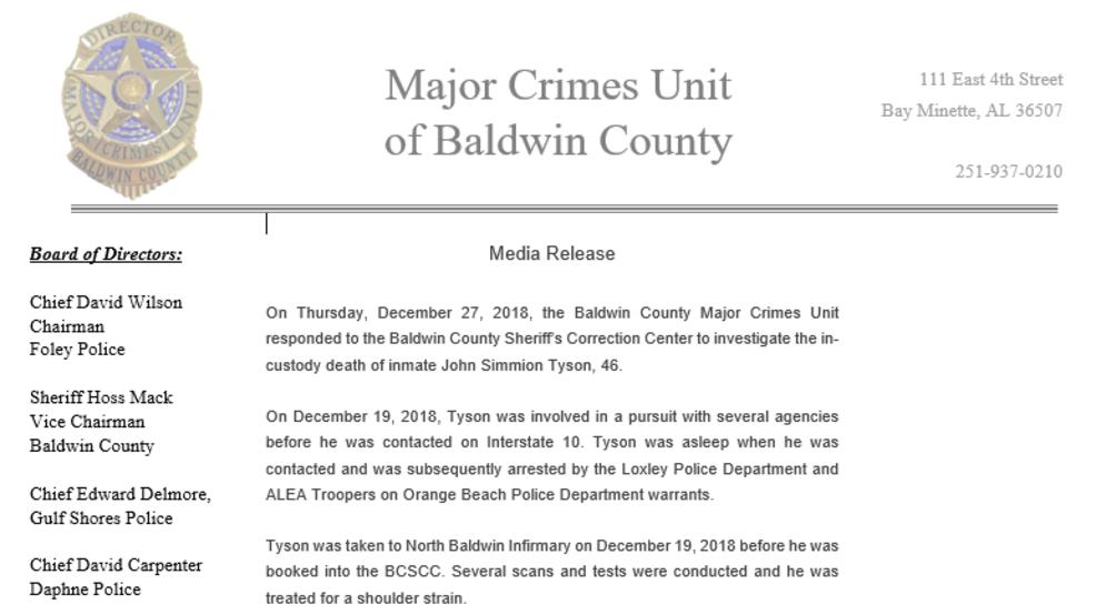 Baldwin County Warrants