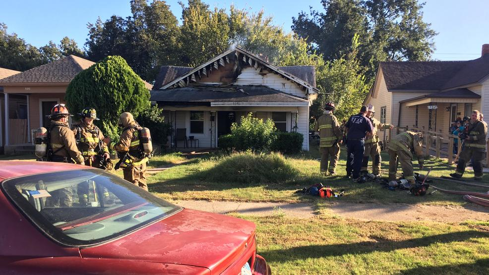 Suspicious house fire in Southwest Oklahoma City leaves one person detained