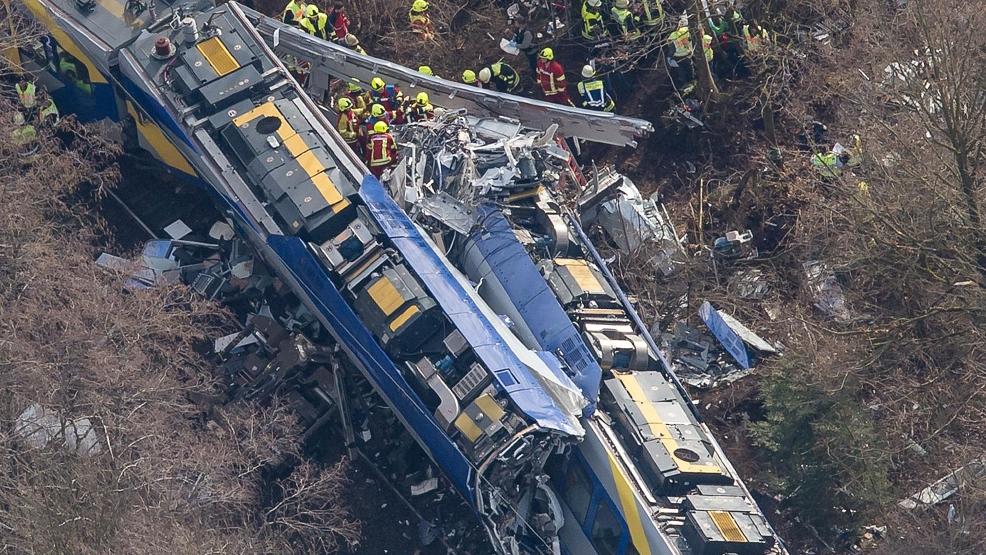 Train Crash In Germany Kills At Least 9 Injures 150 Wjac