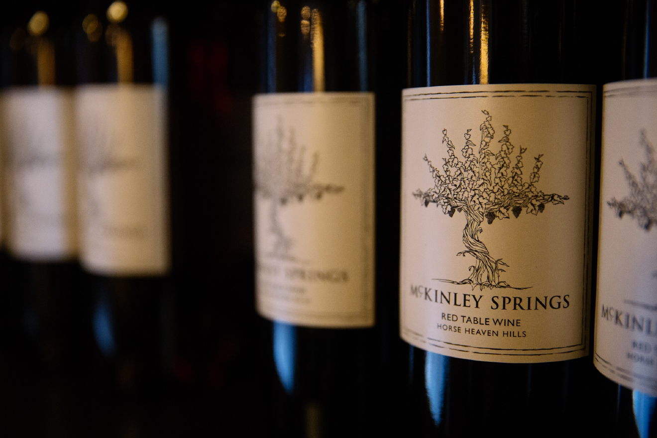 We recently went on a trip to Yakima Valley and found a BUNCH of wineries that, frankly, we had never heard of. We needed to remedy this immediately, specially because we liked what we saw (and tasted), so we're doing a Wine Spotlight series over the next couple weeks. We're starting with McKinley Springs, in the heart of the Horse Heaven Hills. McKinley Springs brings 70+ years of farming experience and 36 years of wine growing toward their 20 different varietals. The family's dedication to quality has developed a stellar reputation by patiently transforming the 2000+ acre estate into one of the largest contiguous vineyards in the state of Washington. More info at mckinleysprings.com. (Image: Joshua Lewis / Seattle Refined)