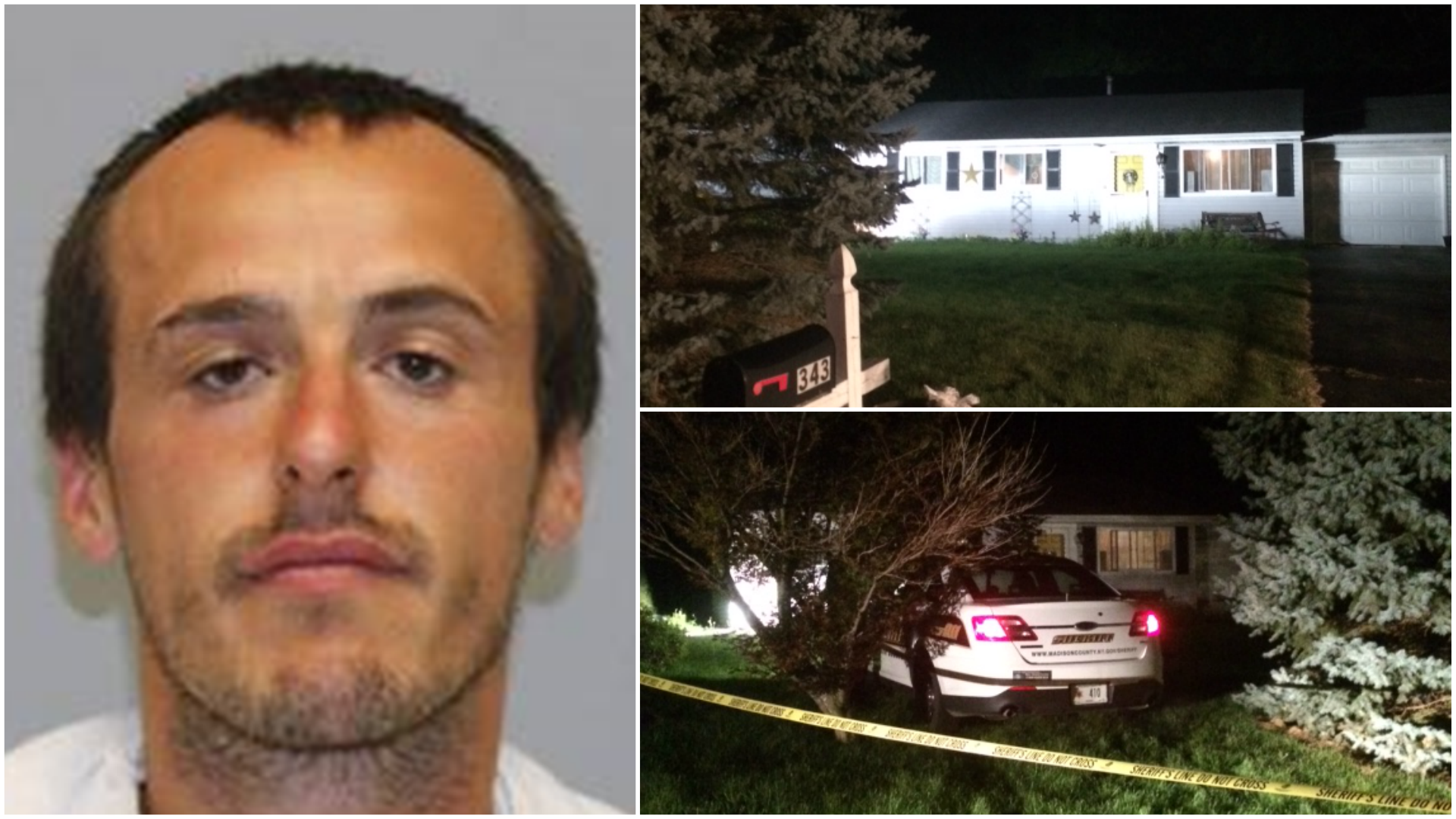 Deputy seriously injured after being exposed to one-pot meth cooker in Chittenango/ Photos courtesy Madison County Sheriff's Office