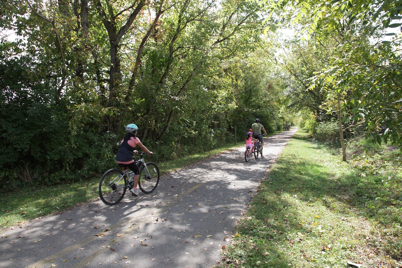 You can't beat biking with brews, so be sure to check out Ohio's only craft beer bike trail, Brewed on the Bikeway. You can ride to several craft breweries, a craft beer hall, and a cider house, all located along the 21-mile Hockhocking Adena Bikeway. / Image: Chez Chesak // Published: 10.27.20