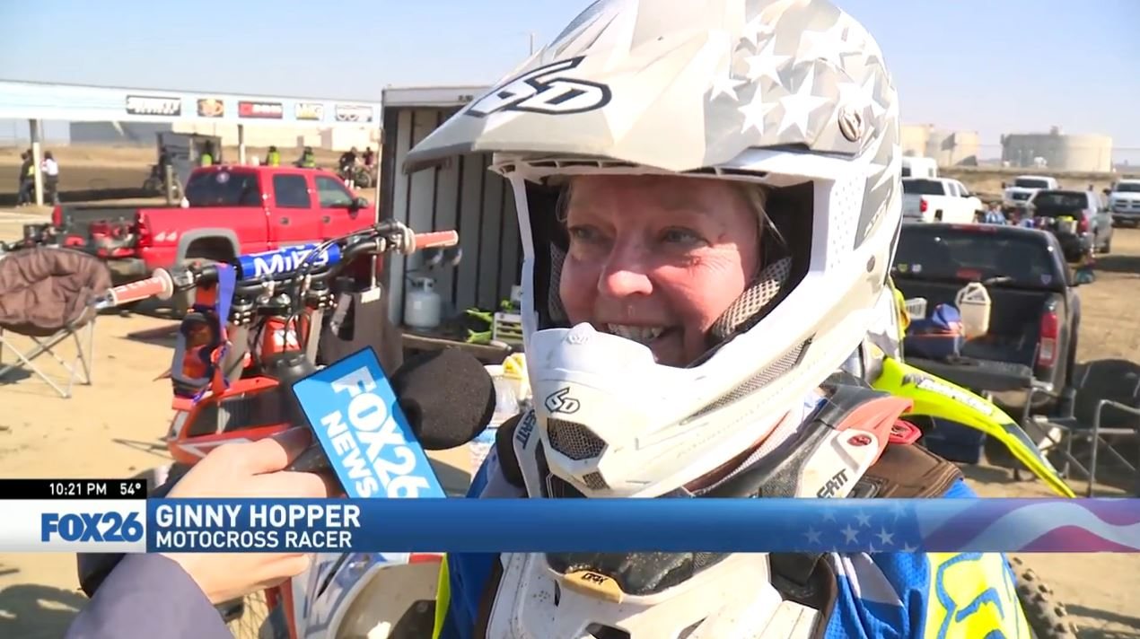 Visalia motocross racer shows why age or gender won't stop her (FOX26)<p></p>
