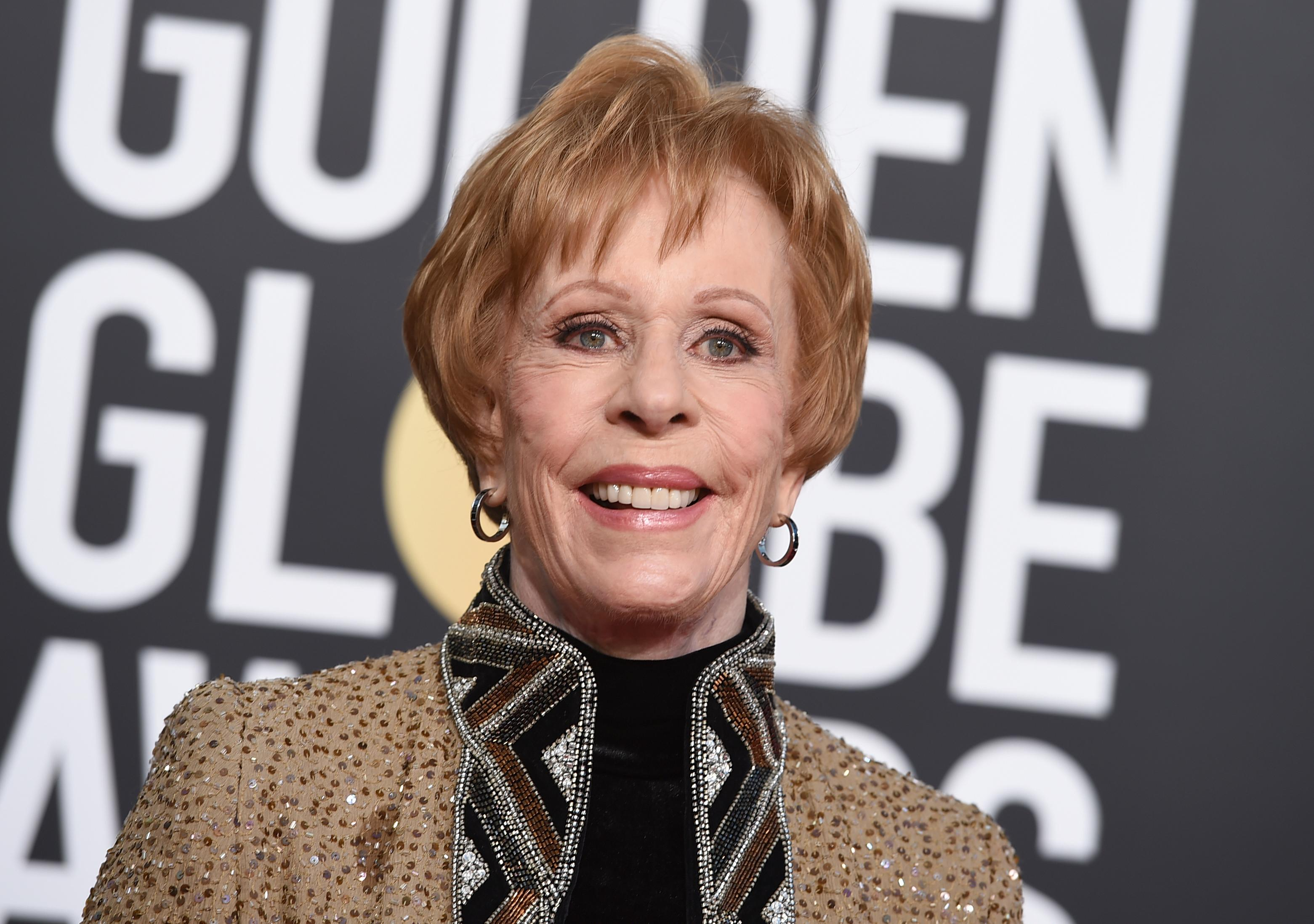 Carol Burnett arrives at the 76th annual Golden Globe Awards at the Beverly Hilton Hotel on Sunday, Jan. 6, 2019, in Beverly Hills, Calif. (Photo by Jordan Strauss/Invision/AP)