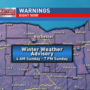 Winter Weather Advisory in WNY