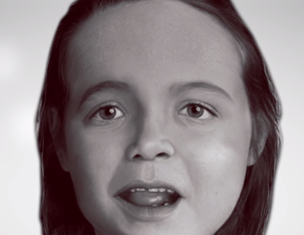 The National Center for Missing and Exploited Children has released the facial reconstruction of a child whose remains were found a year ago. (Photo: National Center for Missing and Exploited Children)