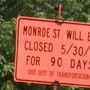 Neighbors prepare for Monroe St. closure