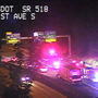 Motorcyclist killed after high-speed crash on Hwy. 518 near I-5