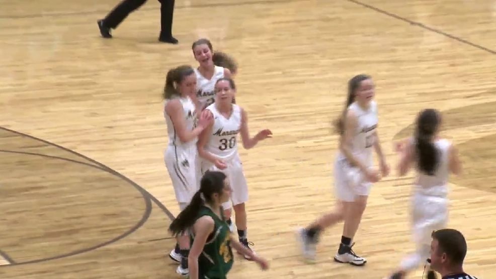 2.22.17 Video- Brooke vs. John Marshall- high school girls basketball