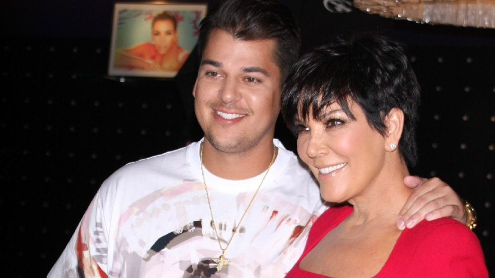 Kris Jenner shares touching tribute on Rob Kardashian's 30th birthday