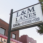 Iconic sign at L&M Lanes to come down this weekend