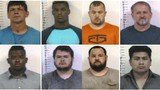 10 men busted in TBI human trafficking investigation