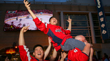 Caps fans get rowdy to 'Rock the Red'