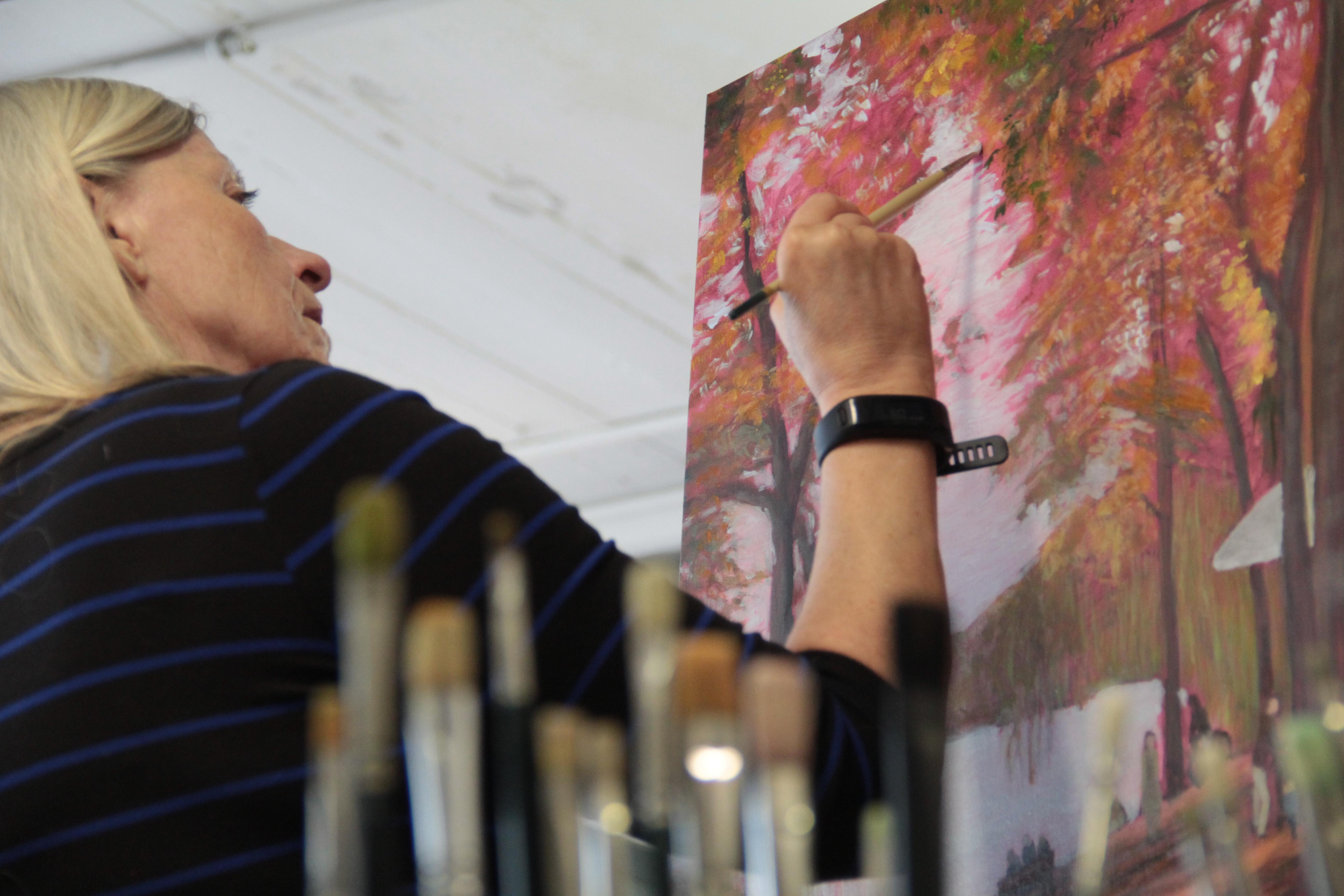 There is something for everybody at this Alexandria-based studio. From watercolors to stained glass, weaving or basic drawing, there is a seemingly never-ending list of ways to expand your creative horizons.(Image: Courtesy The Art League)