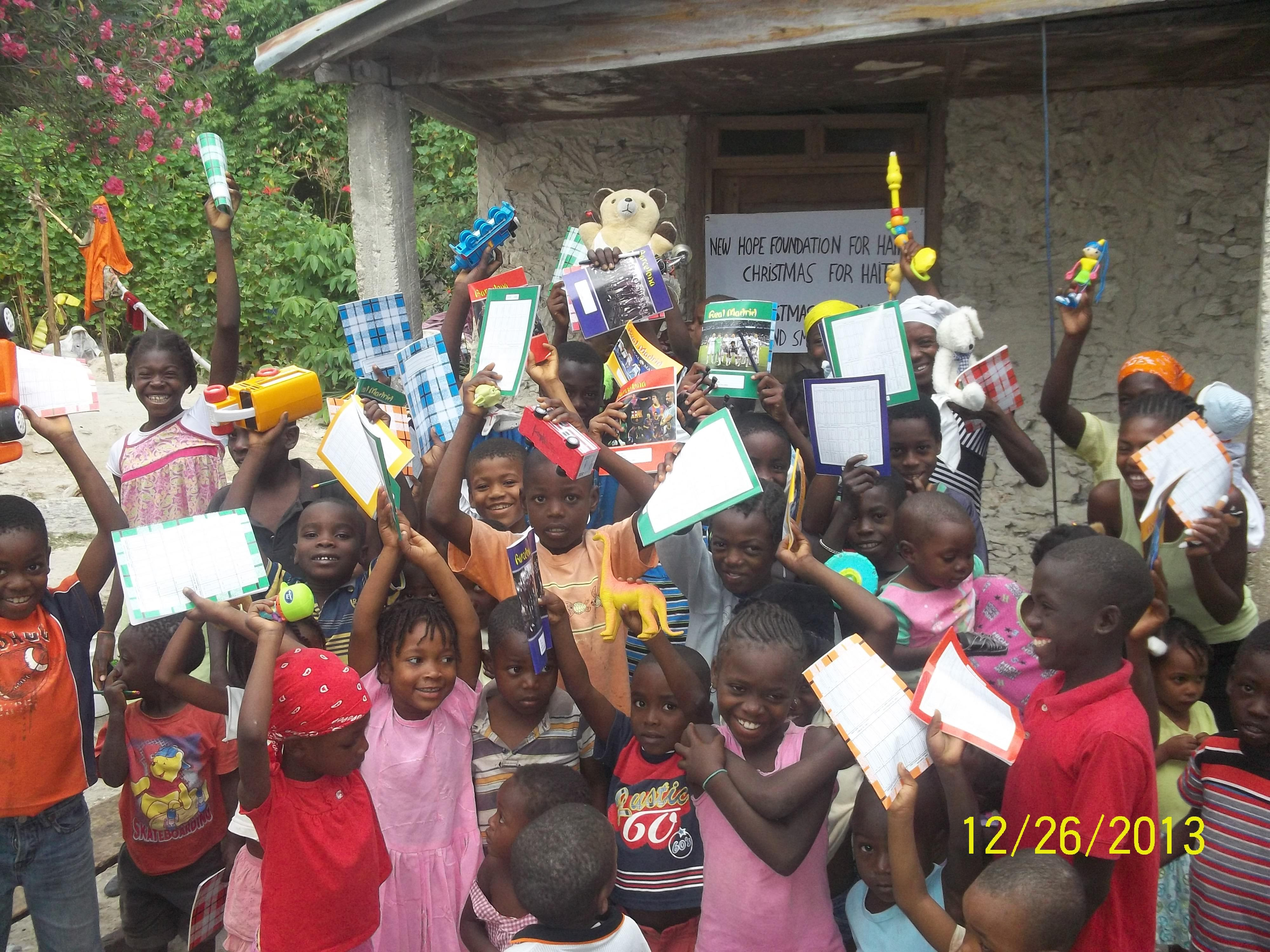 A 2013 photo from &quot;Christmas for Haiti.&quot;{&amp;nbsp;}<p></p>