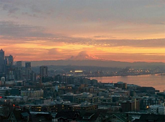 Seattle sunset (Photo: James Magnusson)