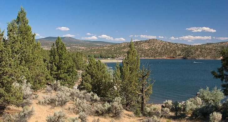Prineville Reservoir State Park - Photo from the Oregon State Parks Dept<p></p>
