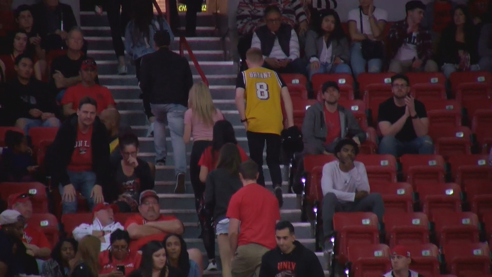 Kobe Bryant remembered as UNLV Runnin' Rebels take on San Diego State