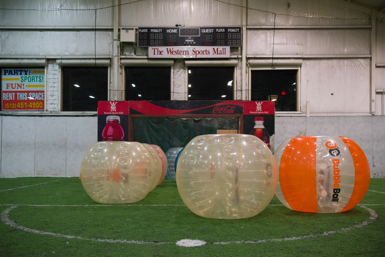 So Let Us Tell You About Our Crazy Bubbleball Experience