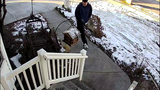 Caught on camera: Thief steals Christmas bait package from doorstep