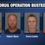 Drug operation busted 500 feet from local high school