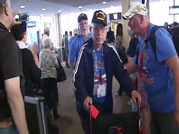 South Willamette Valley Honor Flight arrives in D.C.