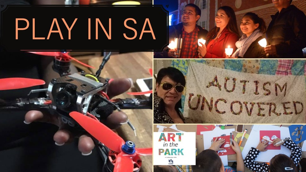 PLAY IN SA: AccessAbility Fest, Drone Expo, Light the Way