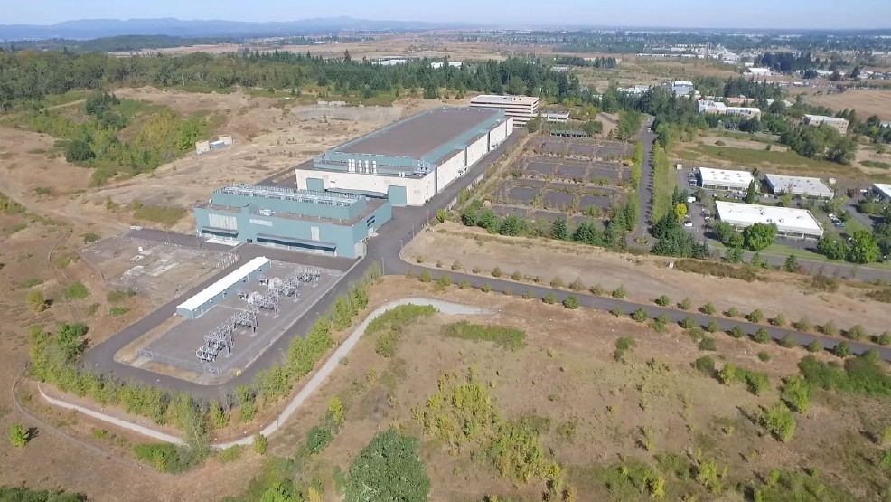 Aerial image of the Hynix plant in West Eugene courtesy Lance Hughes.