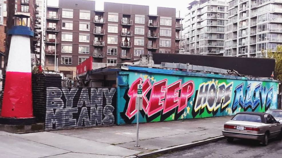 'Keep hope alive': Seattle street artists transform abandoned places