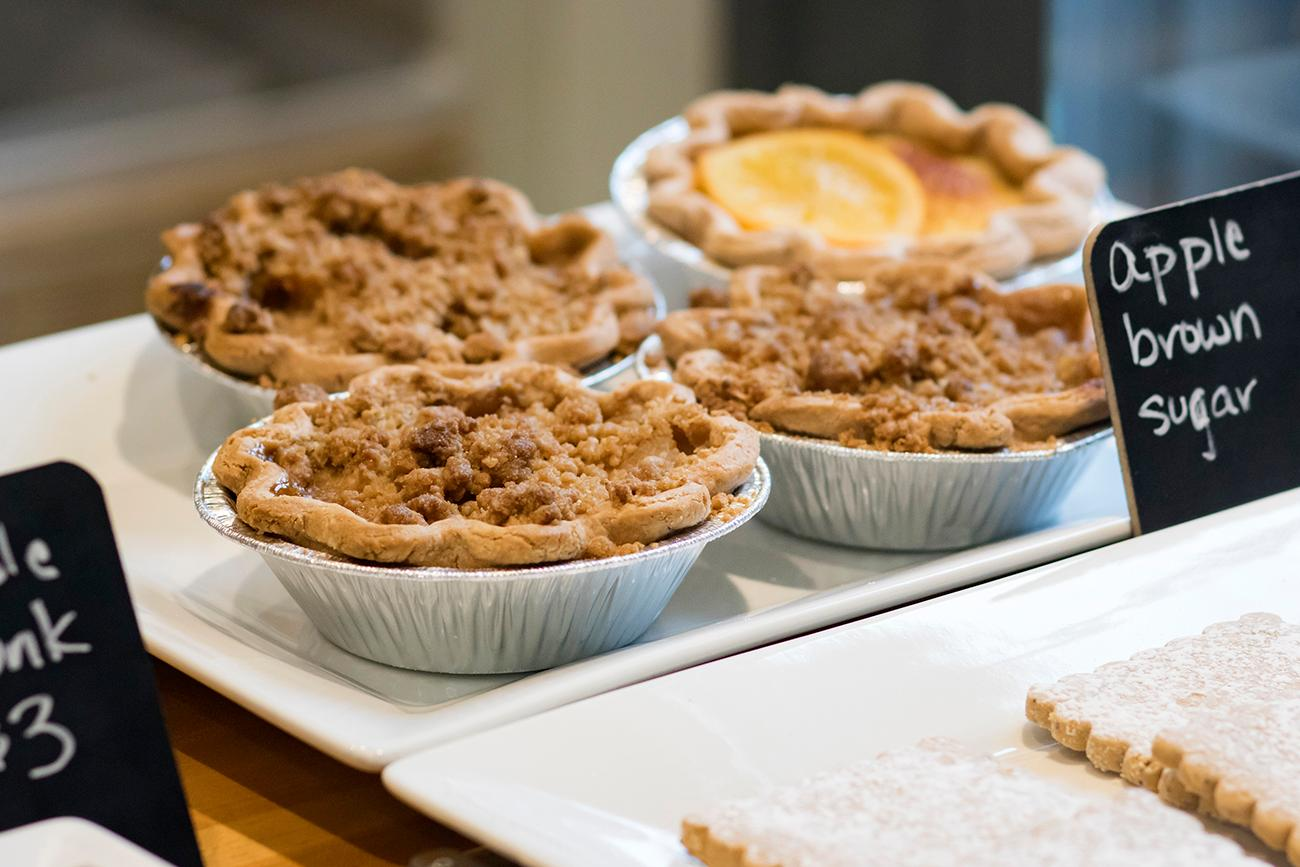 Apple brown sugar pies{ }/ Image: Allison McAdams // Published: 2.7.19