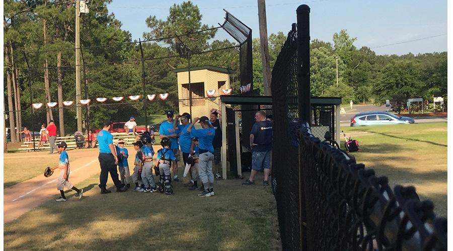 Ladson Youth Organization at Tom Conley Park is already seeing a benefit from the new BJ's in Summerville. (WCIV)
