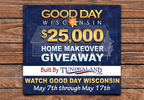 2018 Good Day Wisconsin $25,000 Home Makeover Giveaway