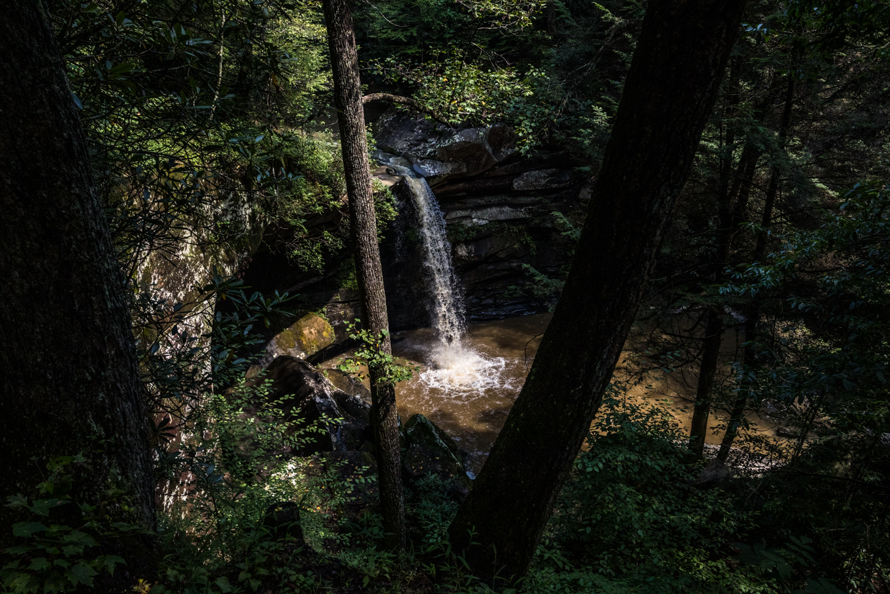 When you're ready to head home from Flat Lick Falls, you'll be back in Cincinnati in about two and a half hours. / Image: Catherine Viox // Published: 9.28.20
