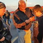 WATCH: 50 bikers step up, escort bullied boy to his first day at school