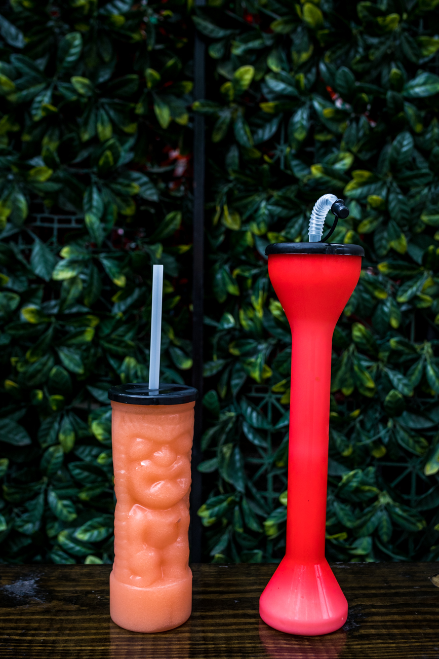 PLACE: Treehouse Patio Bar / ADDRESS: 1133 Sycamore Street (Over-the-Rhine) / Peach Bellini and Pina Colada / WEBSITE: facebook.com/treehousepatiobarotr / Image: Catherine Viox // Published: 9.5.20