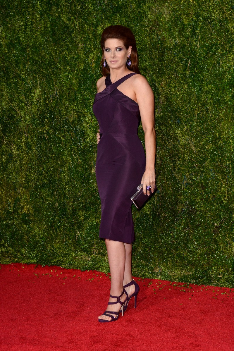 2015 Tony Awards - Red Carpet Arrivals  Featuring: Debra Messing Where: Manhattan, New York, United States When: 08 Jun 2015 Credit: Ivan Nikolov/WENN.com