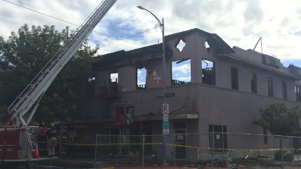 Fire Destroys Historic Hotel In Kingsburg Ca