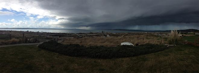 Storm over Whidbey Island (Photo: Brett Smith)