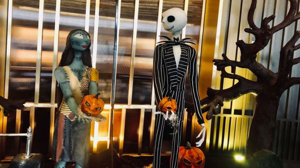 Nightmare Before Christmas Maternity Clothes.This Nightmare Before Christmas Scene In Nashville Is Made
