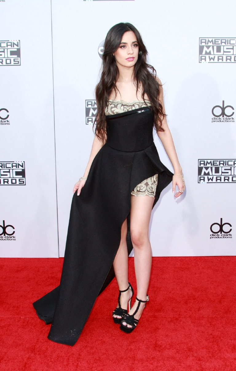 American Music Awards 2015 - Arrivals held at Microsoft Theatre  Featuring: Camila Cabello Where: Los Angeles, California, United States When: 22 Nov 2015 Credit: Adriana M. Barraza/WENN.com