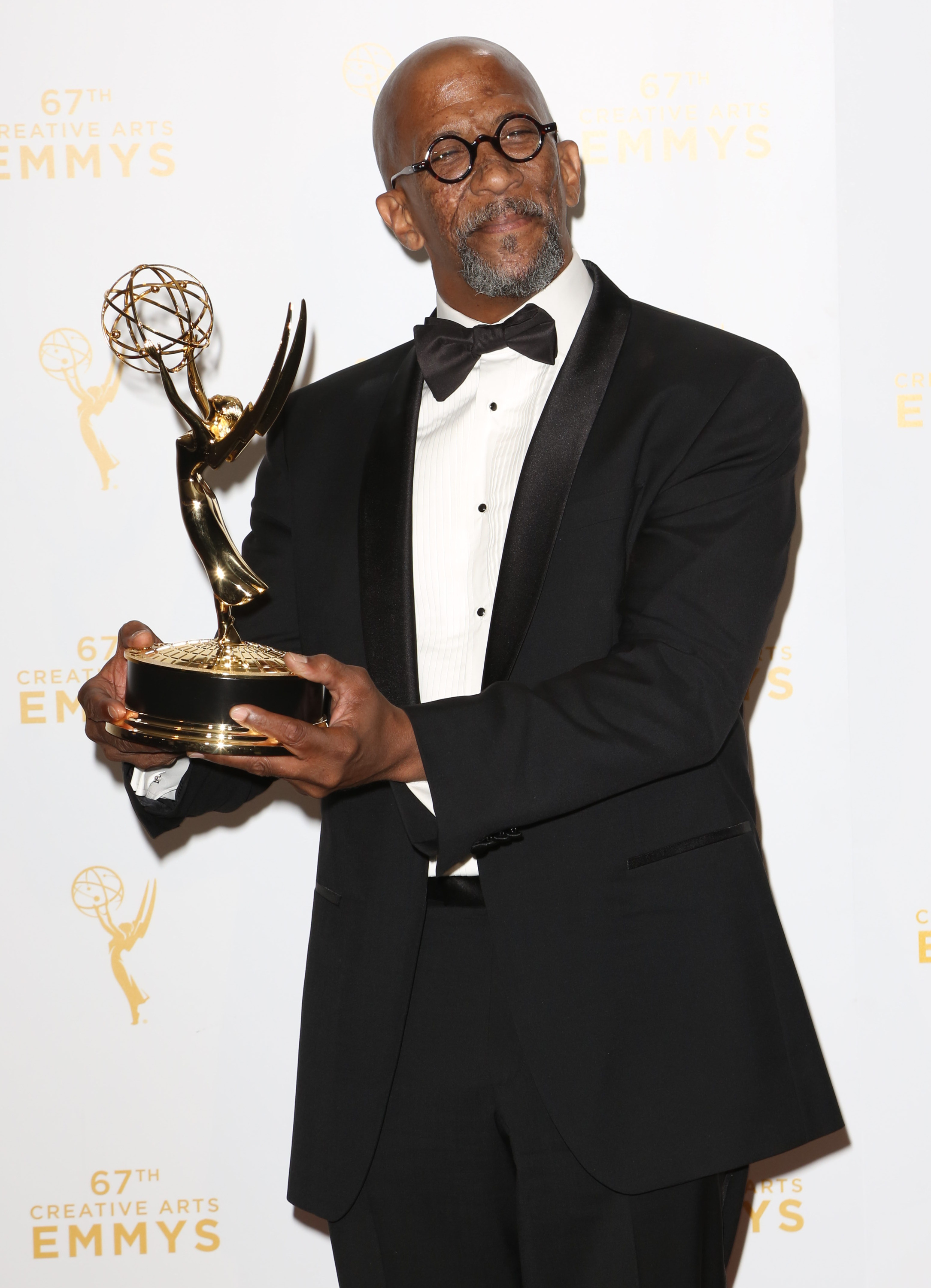 2015 Creative Arts Emmy Awards at Microsoft Theater- Press Room                                    Featuring: Reg E. Cathey                  Where: Los Angeles, California, United States                  When: 12 Sep 2015                  Credit: Brian To/WENN.com