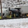 One dead after 20-30 vehicles crash on I-80 at Echo Junction