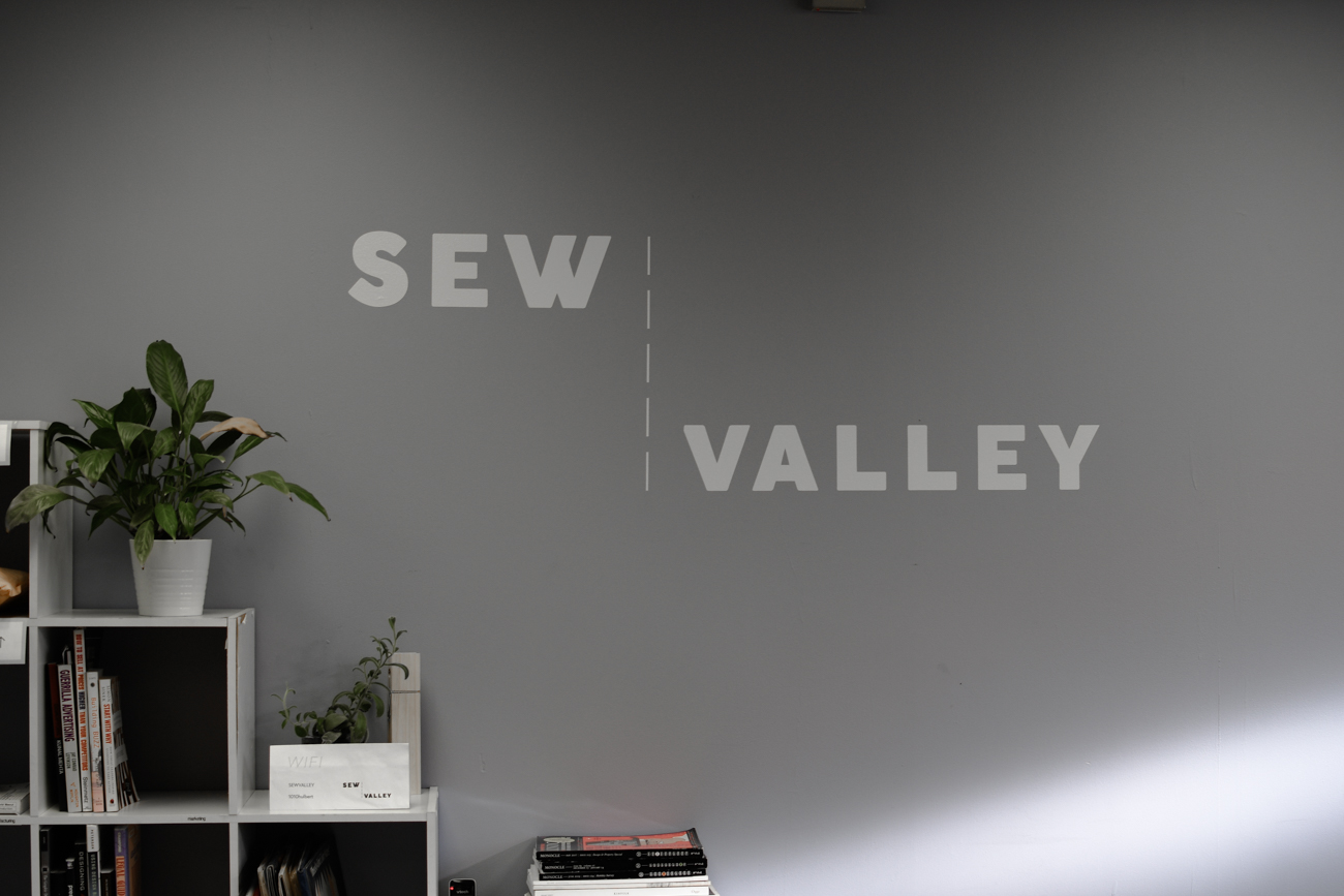 Sew Valley is a nonprofit with a focus on bringing manufacturing expertise, training, and sustainability to the community. / Image: Shea Renusch // Published: 2.7.20