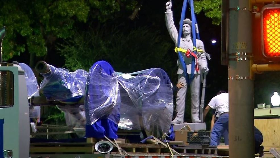 Local UDC chapter sues the city over statue removal