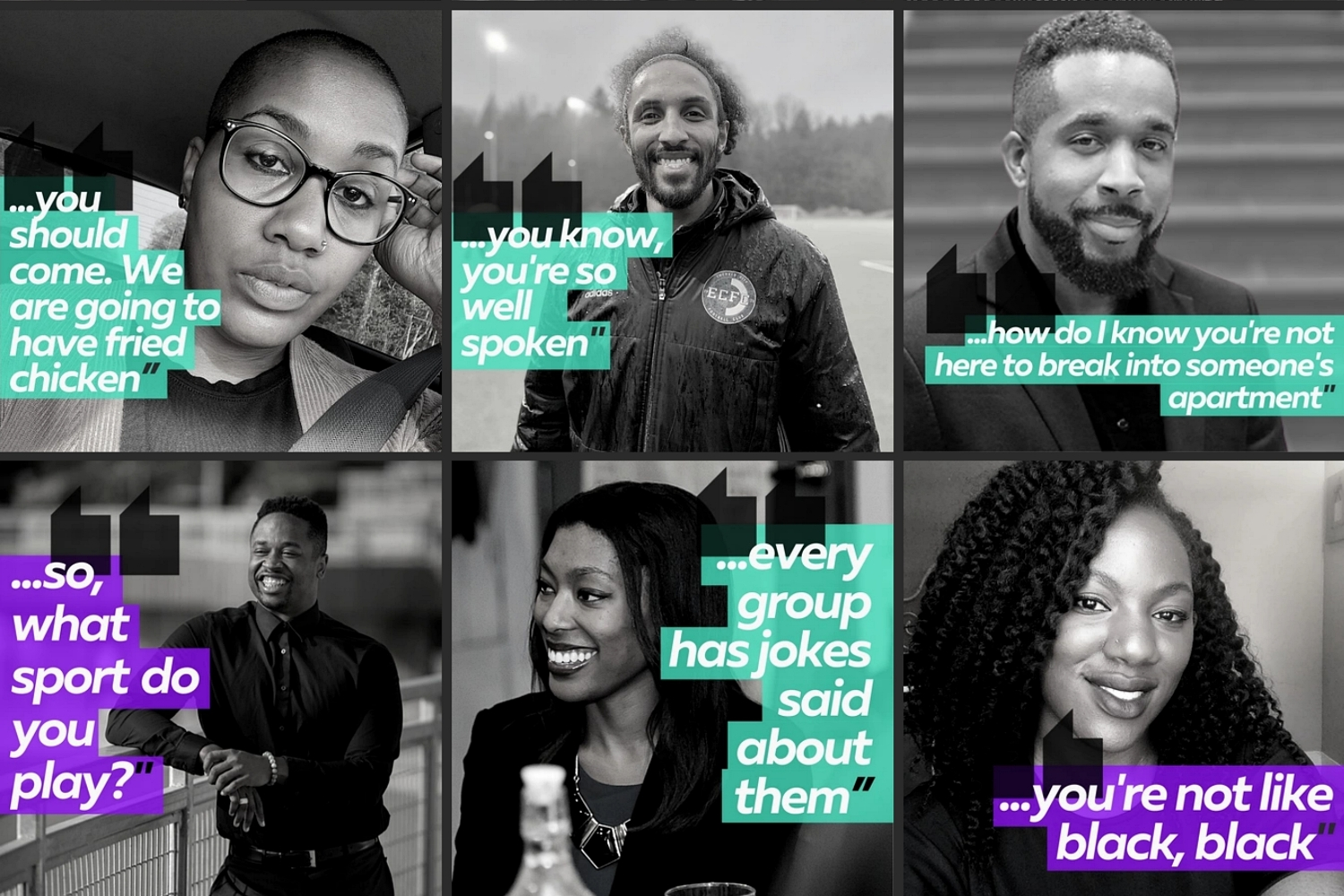 Sample stories of microaggressions featured in 1000 Cuts. (Image: Ahmad Corner)