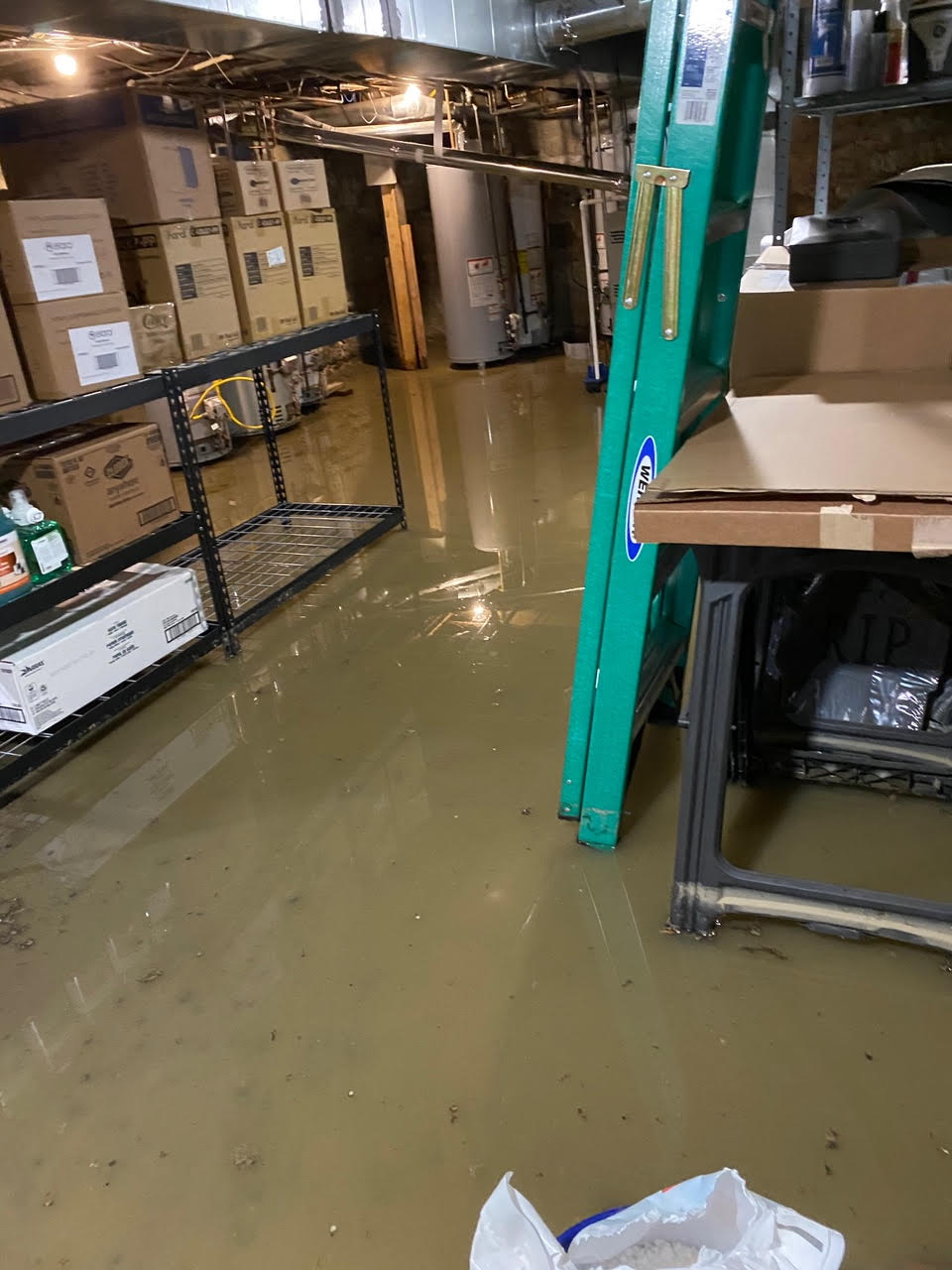 Some business owners in the Short North are still trying to get on their feet after closing due to COVID-19. Now, they are dealing with thousands of dollars worth of damage from basement flooding issues. (Photo courtesy: Ben Stoyka)<p></p>